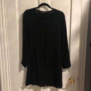 Madewell Long Sleeve Dress with Buttons